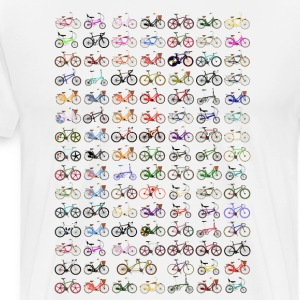 Bikes T-Shirt - Cycling Design - Men's Premium T-Shirt