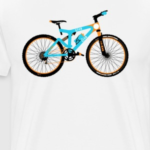 Mountain Bike  T-Shirts - Men's Premium T-Shirt
