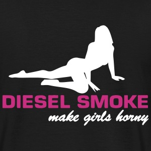 DIESEL SMOKE MAKE HORNY T-Shirts - Men's T-Shirt