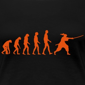 iaido evolution T-shirts - Vrouwen Premium T-shirt