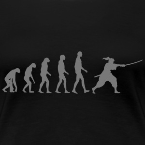 iaido evolution T-Shirts - Frauen Premium T-Shirt