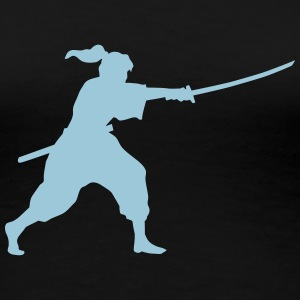 iaido fighter T-Shirts - Frauen Premium T-Shirt