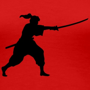 iaido fighter T-Shirts - Women's Premium T-Shirt