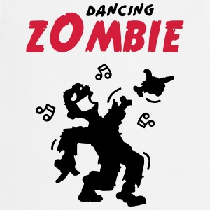 Dancing zombie loses his hand  Aprons - Cooking Apron