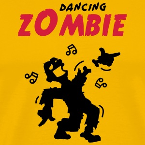 Dancing zombie loses his hand T-Shirts - Men's Premium T-Shirt