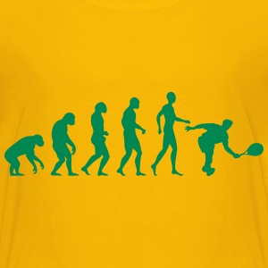 tennis evolution Tee shirts - T-shirt Premium Ado