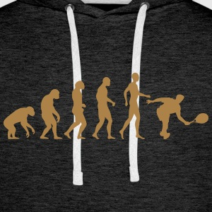 tennis evolution Sweat-shirts - Sweat-shirt à capuche Premium pour hommes