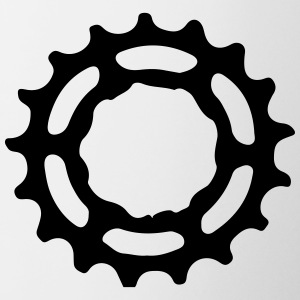 Mountain bike gear sprocket gears 1c. Bottles & Mugs - Mug