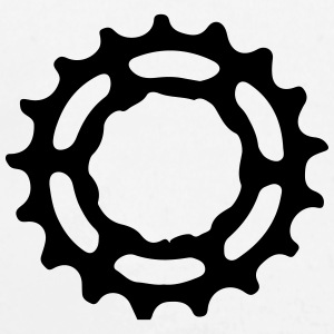 Mountain bike gear sprocket gears 1c. Hoodies - Longlseeve Baby Bodysuit