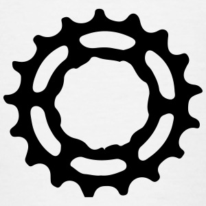 Mountain Bike utstyr sprocket gears 1c Skjorter - T-skjorte for tenåringer