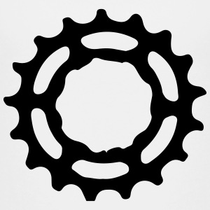 Mountain bike gear sprocket gears 1c. Shirts - Teenage Premium T-Shirt