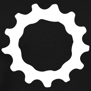 Mountain bike gear sprocket gears 1c. T-Shirts - Men's Premium T-Shirt