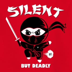 Silent but Deadly Shirts - Kids' T-Shirt