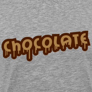 Chocolate Graffiti T-Shirts - Männer Premium T-Shirt