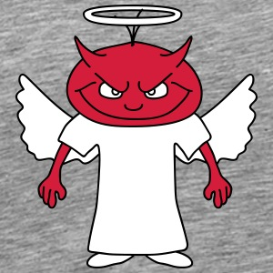Devil Angel T-shirts - Mannen Premium T-shirt