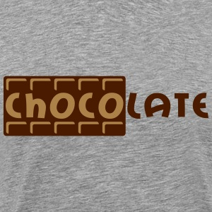Chocolate T-skjorter - Premium T-skjorte for menn