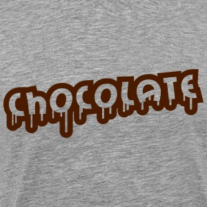 Chocolate Design T-shirts - Mannen Premium T-shirt