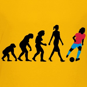 evolution_fussballerin_052013_a_3c T-Shirts - Teenager Premium T-Shirt