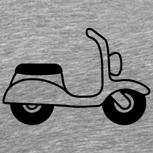 Moped T-skjorter - Premium T-skjorte for menn
