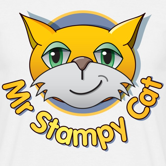 Mr. Stampy Cat - Men's T-shirt