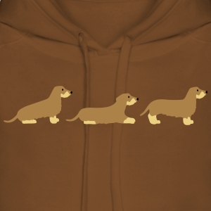 sit down stay teckel 2 Hoodies & Sweatshirts - Women's Premium Hoodie