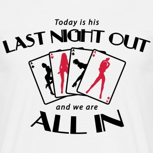 Last Night Out - Stag Night Tee shirts - T-shirt Homme