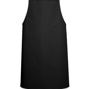 Black i love painted heart EN Men's T-Shirts - Cooking Apron
