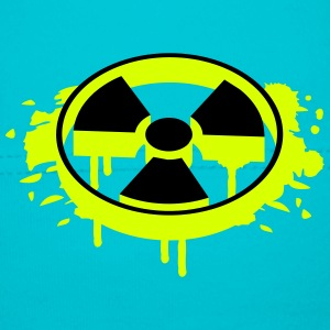A radioactive sign as a graffiti Kids and Babies - Baby Cap