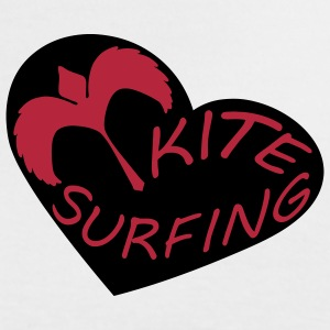 kitelegion_love_kitesurfing T-Shirts - Women's Ringer T-Shirt
