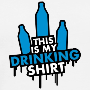This Is My Drinking Shirt Design T-Shirts - Men's Premium T-Shirt