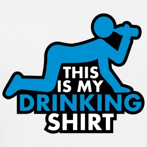 This Is My Drinking Shirt T-shirts - Premium-T-shirt herr