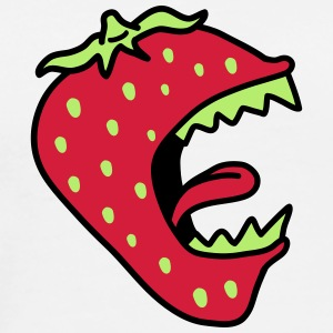 Monster Strawberry T-Shirts - Männer Premium T-Shirt