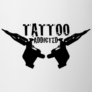 Tattoo Tattoo Addict Addicted Addiction 1c Kopper og flasker - Kopp