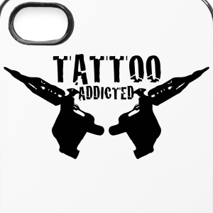 Tattoo Addicted 1c Mobil- og tablet-covers - iPhone 4/4s Hard Case