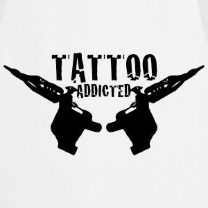 Tattoo Tattoo Addict Addicted Addiction 1c Forklær - Kokkeforkle