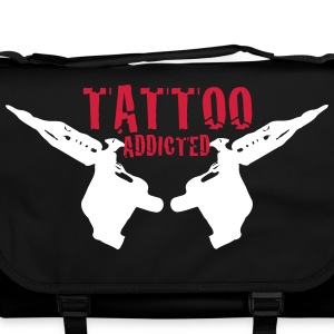 Tattoo Addicted Tattosüchtig Sucht Süchtig 2c Bags & backpacks - Shoulder Bag