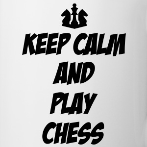 Keep Calm and Play Chess Flessen & bekers - Mok