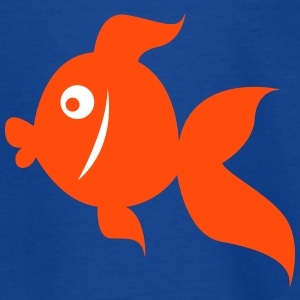 funny_fish T-Shirts - Kinder T-Shirt