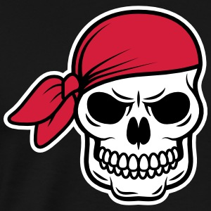 Captain Jack Pirat skull T-Shirts - Men's Premium T-Shirt