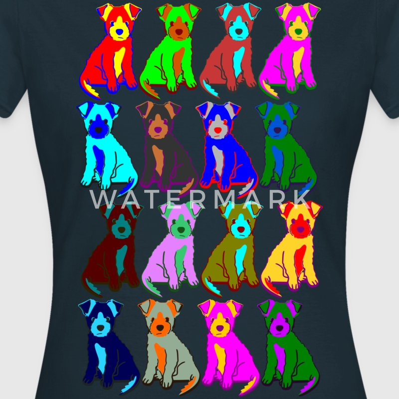 colorful puppies T-Shirts - Women's T-Shirt