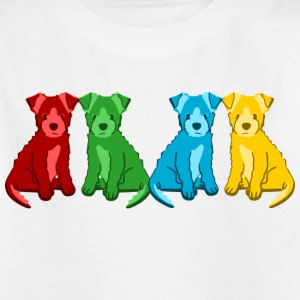 puppies T-shirts - T-shirt tonåring