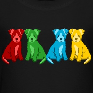 puppies T-shirts - Børne premium T-shirt
