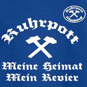 Ruhrpott Meine Heimat Mein Revier rpc T-Shirts - Teenager T-Shirt