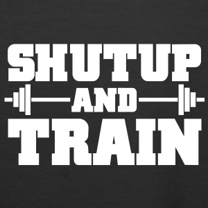 Shutup and train | Barbell | Womens Hoodie - Women's Premium Hoodie