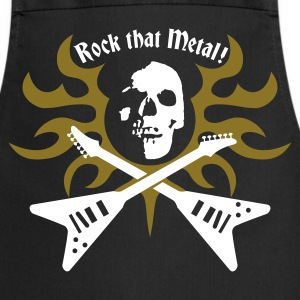 rock_that_metal Delantales - Delantal de cocina