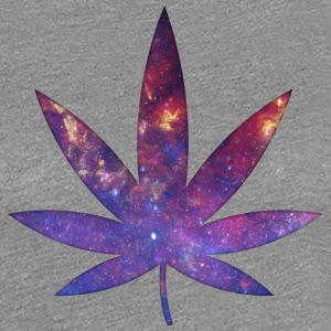 Space Weed T-Shirts - T-shirt Premium Femme
