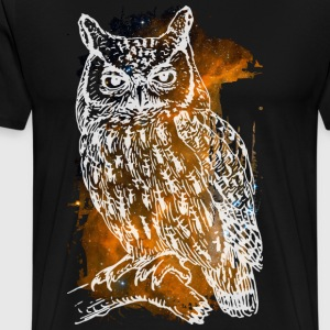 Cosmic Owl T-Shirts - T-shirt Premium Homme
