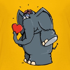 The elephant is in love Shirts