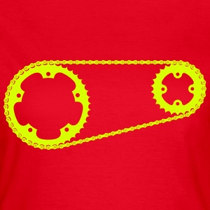 Chainring with chain  T-Shirts - Women's T-Shirt