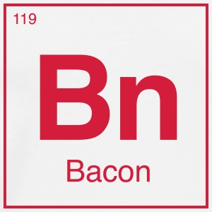 Periodic Bacon - Männer Premium T-Shirt